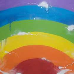 rainbow small girls blog